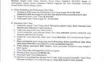Ujian Ulang TA 2013/2014