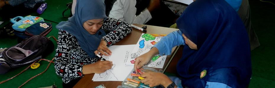 workshop pembuatan ceritera bergambar